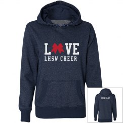 Love Cheer Cheerleader Sweatshirt