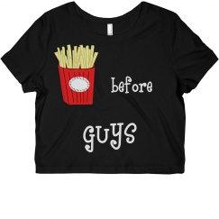 Fries Cropped Tee