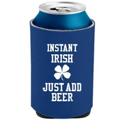 Instant Irish Koozie