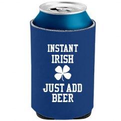 Instant Irish Koozie