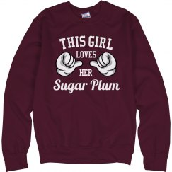 Girl loves her Sugar Plum