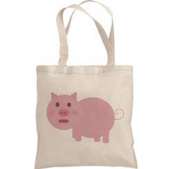 Shy Pink Pig