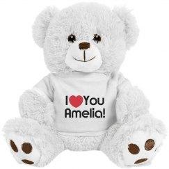 Custom I love you Teddy Bear