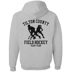 A Neon Field Hockey Fan