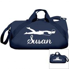 Susan's swim bag