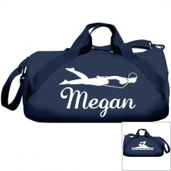 Megan's swim bag