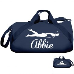 Abbie's swim bag