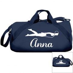 Anna's swimming bag