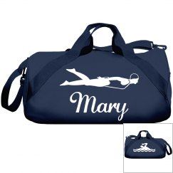 Mary's swimming bag