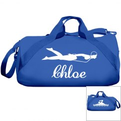 Chloe's swimming bag
