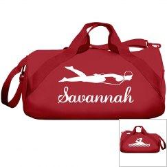 Savannah's swimming bag