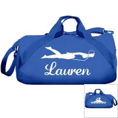 Lauren's swimming bag
