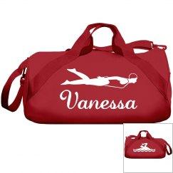 Vanessa's swimming bag