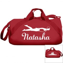 Natasha's swimming bag