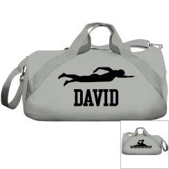 David swimming bag