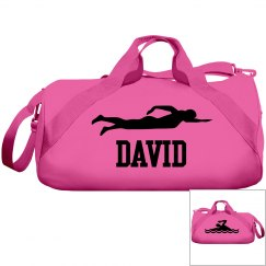 David swimming bag