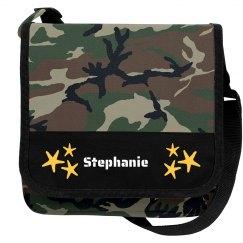 Stephanie Camo bag