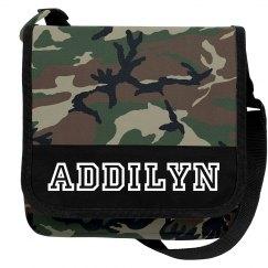 Addilyn Camo bag