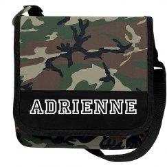 Adrienne Camo bag
