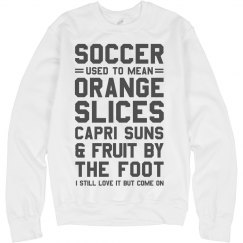 Youth Soccer Golden Day Snacks