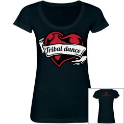Tribal dance heart