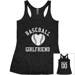 Baseball Girlfriend Tanks