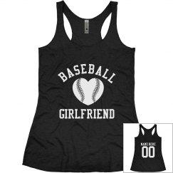 Baseball Girlfriend Tanks