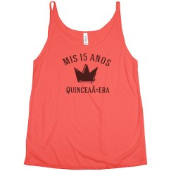 Customizable Quinceanera Shirt