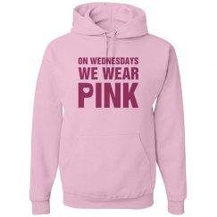 Wednesday Wear Pink Hoodi