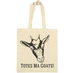 Totes Ma Goats! Pun Bag