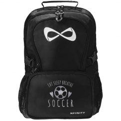 Eat Sleep Breathe Soccer Nfinity Bag