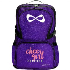 Cheer Girl Life Glitter Nfinity Bag