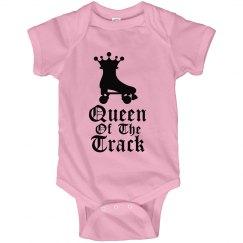 Queen Of The Track Onesie