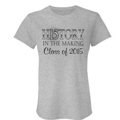 2015 Graduation History