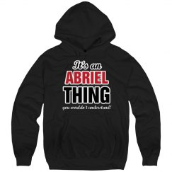 It's an Abriel thing
