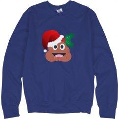 christmas poop emoji