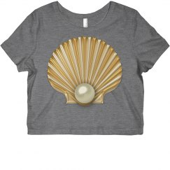 Golden Seashell Pearl