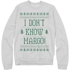 Margo Todd Ugly Sweater Couple