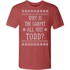 Margo Todd Christmas Sweater Couple
