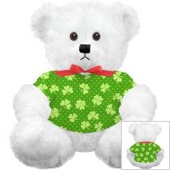 Irish Shamrock Cudddly Toy