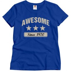 Awesome since 1970
