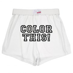 Color Run Butt Target