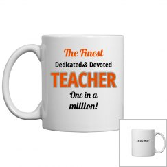 Dedicated & devoted teacher