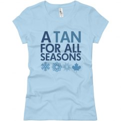 A Tan For All Seasons
