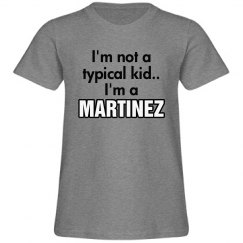 I'm a Martinez!
