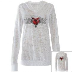 Goth Heart & Angel Wings