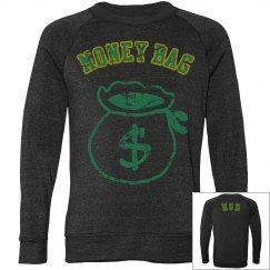 Money bag clothing
