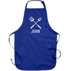 John personalized apron