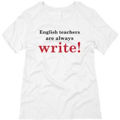 English Teachers...