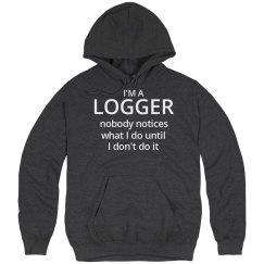 Logger's hoodie